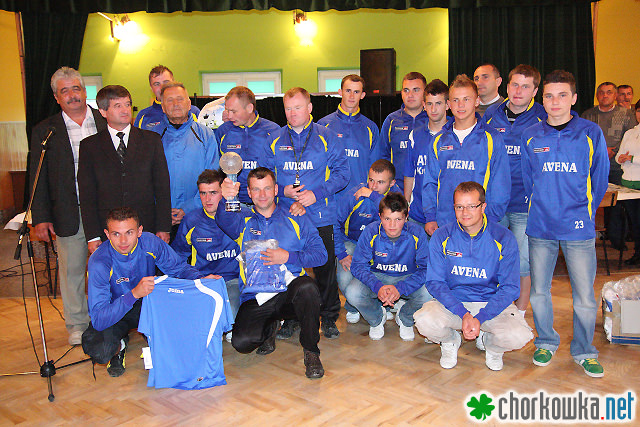 Turniej o Puchar Wójta Gminy Chorkówka 2011