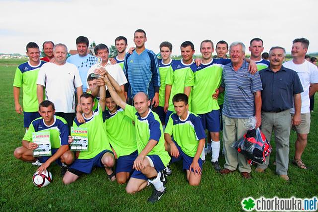 Turniej o Puchar Wójta Gminy Chorkówka 2013