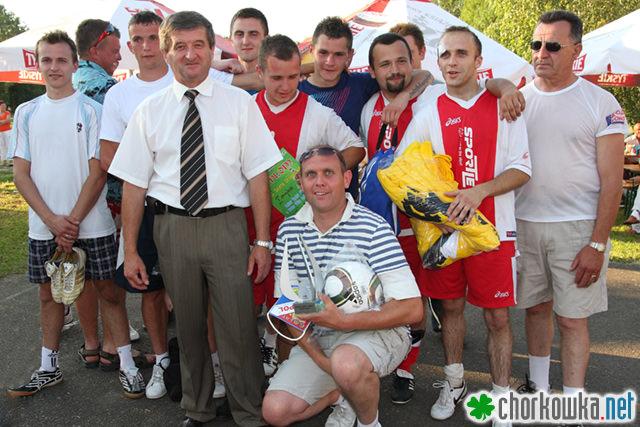 Turniej o Puchar Wójta Gminy Chorkówka 2010